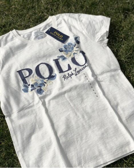 ac0a96e23f Triko dámské Ralph Lauren bílé POLO